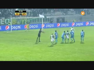 Vizela 2-3 Sporting CP - Golo de André Martins (34min)