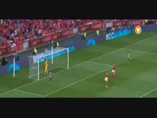 Benfica 1-1 Sporting CP - Golo de I. Slimani (20min)