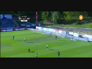Arouca 3-0 Nacional - Golo de Walter González (14min)