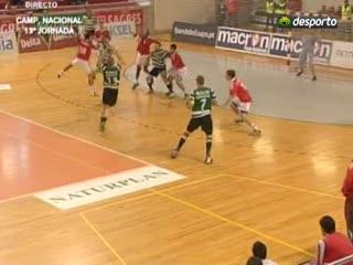 Andebol :: 13J :: Benfica - 25 x Sporting - 24 de 2009/2010