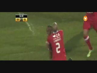 Vitória Guimarães 2-2 Gil Vicente - Golo de Evaldo (55min)