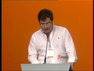 Ricardo Carvalho fala no Congresso do PSD sobre proposta da JSD
