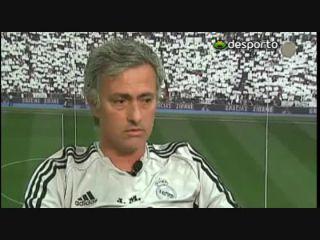 José Mourinho: entrevista