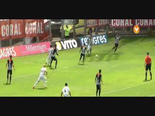 Nacional 0-1 Moreirense - Golo de Vitor Gomes (3min)