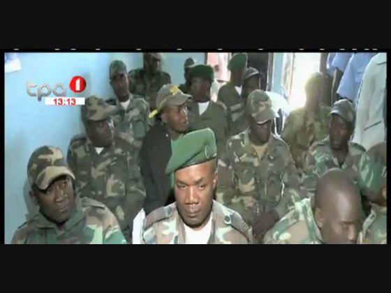 """Brigada """"Jovens Solidários"""" reforça estoque do Hospital provincial do Bié"""