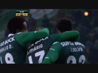 Sporting CP 4-0 Famalicão - Golo de João Mário (47min)
