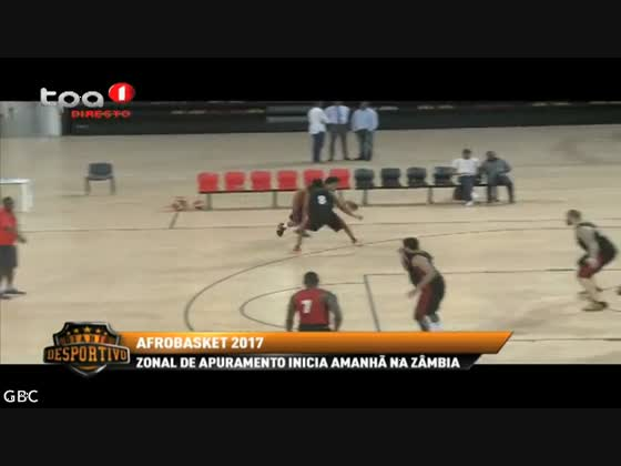 """Afrobasket 2017 """"Angola defronta Domingo a África do Sul"""""""