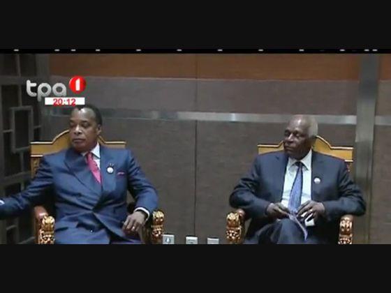 Presidentes de Angola, Congo e RDC analisaram implementação do acordo político