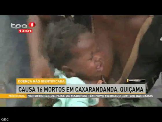 Doença não identificada causa 16 mortos em Caxarandanda, Quiçama