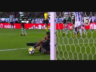 Resumo: Sporting CP 0-0 Porto (1 Outubro 2017)