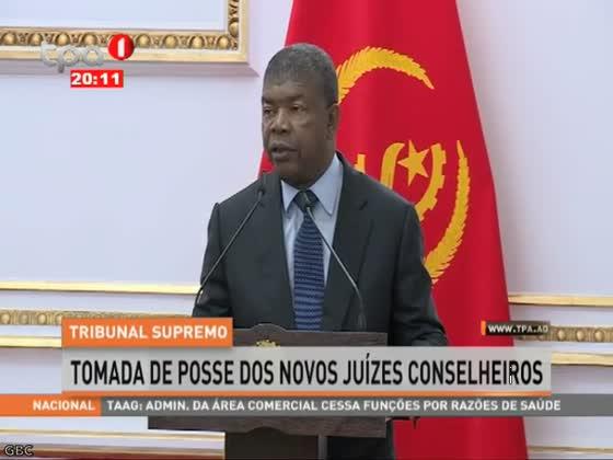 "TS ""Tomada de posse dos novos Juízes Conselheiros"""
