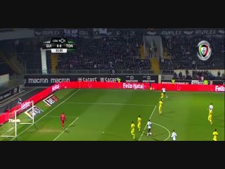 Resumo: Vitória Guimarães 0-1 Tondela (23 Dezembro 2017)