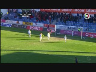 Feirense 1-2 Chaves - Golo de Willian (24min)