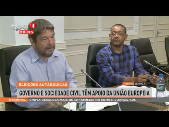 Governo e Sociedade Civil tem apoio da Uniâo Europeia para as Autarquias