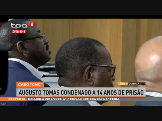 Augusto Tomás condenado a 14 anos de prisão