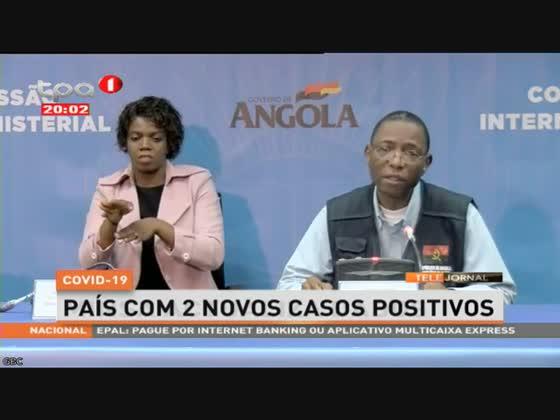 Angola com mais um paciente recuperado do Covid-19