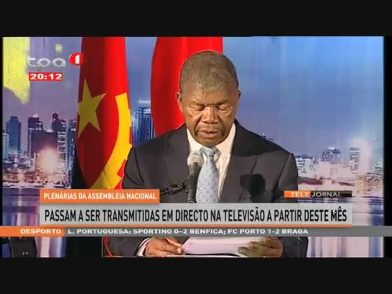 Plenárias da AN - passam a ser transmitidas em directo na TV a partir deste mês