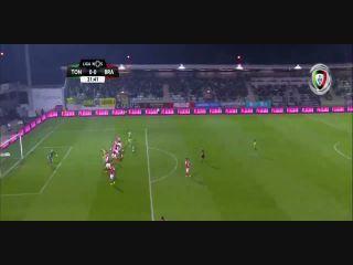 Resumo: Tondela 0-1 Sporting Braga (8 Dezembro 2018)