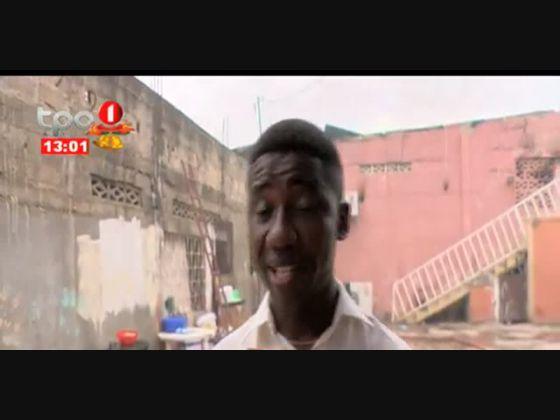 Incêndio destrói armazém e três residências no Morro Bento, Luanda