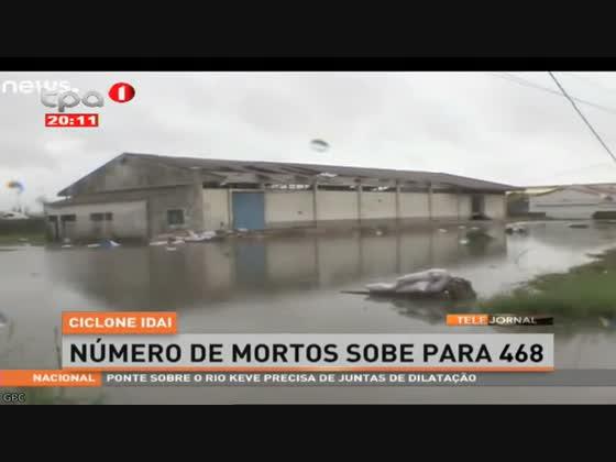 "Números de mortos sobe para 468 ""Ciclone IDAI"""